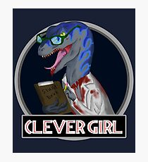Clever Girl - Jurassic World Photographic Print