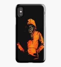 vulpes pilum mutat, non mores (Black Shirt Version) iPhone Case