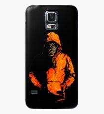 vulpes pilum mutat, non mores (Black Shirt Version) Case/Skin for Samsung Galaxy