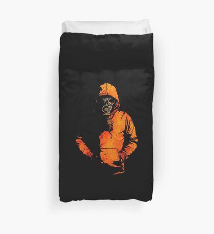 vulpes pilum mutat, non mores (Black Shirt Version) Duvet Cover