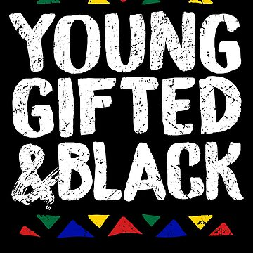 Young Gifted & Black History Pride Panthers Gift by 91design