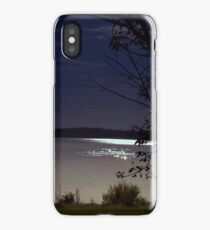 Full Moon Over Jordan iPhone Case