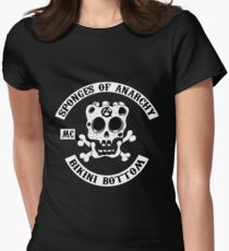 Sponges Of Anarchy Women's Fitted T-Shirt