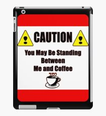 Caution iPad Case/Skin