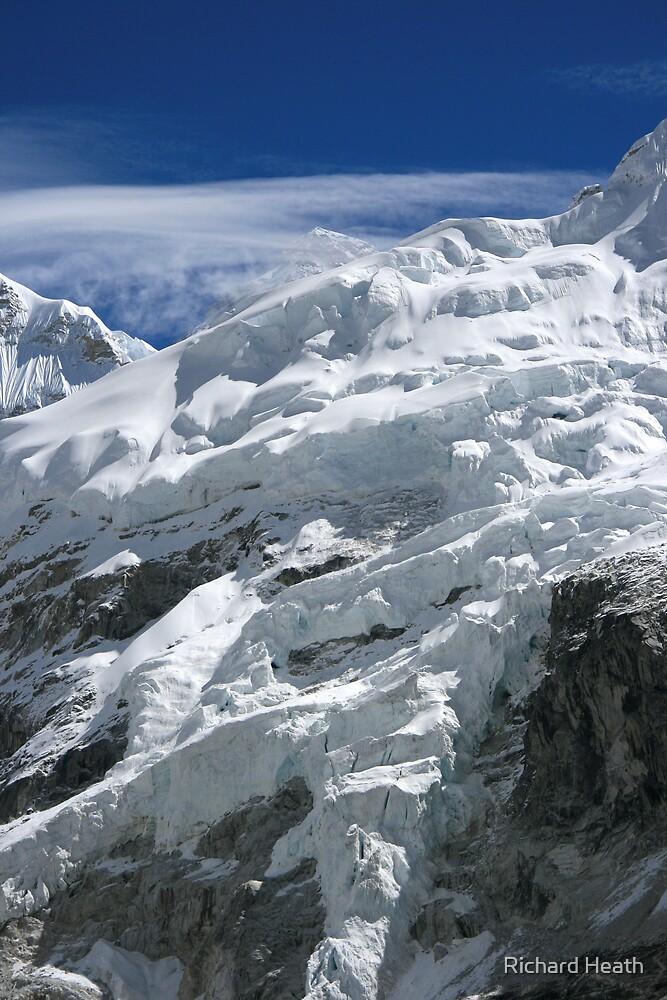 Everest over the Ice by Richard Heath