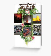 Apau Hawaii Tours - Lava Day Cycle Huddle Greeting Card