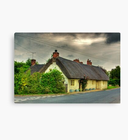 Thatched Country Cottage - Harome Canvas Print
