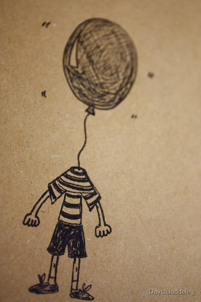 Helium Head by DavidBaddeley