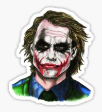 joker USA By Chris  Sticker