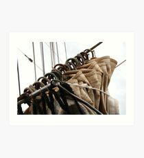 raised the sails Art Print