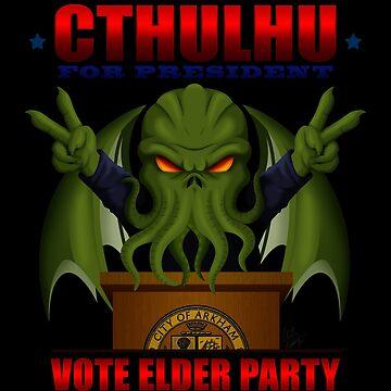 Cthulhu para presidente de zombiegirl01