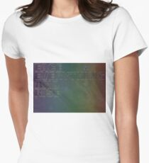 Face Everything And Rise Women's Fitted T-Shirt