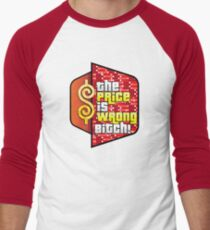The Price is Wrong! Men's Baseball ¾ T-Shirt