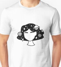 Spacey Girl Unisex T-Shirt