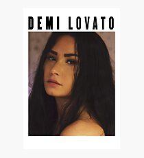 Lámina fotográfica Demi Lovato