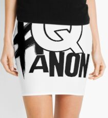 #QAnon Mini Skirt
