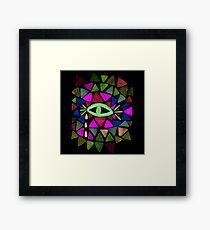 Crystaleyes 5 Framed Print