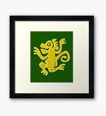 Green Monkeys Framed Print