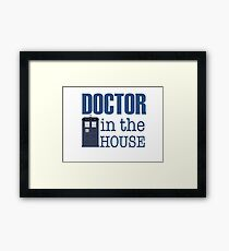 Doctor in the House Framed Print