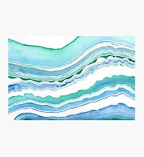 Tropical Ocean Waves Photographic Print