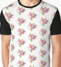 watercolor pomegranete  Graphic T-Shirt