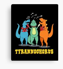 Tyrannochorus Canvas Print