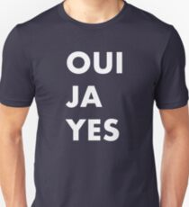 OUI JA YES / Ouija Yes - As Worn by Thom Yorke Unisex T-Shirt