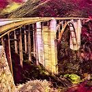 Bixby Bridge (Red Theme) by Joe Lach