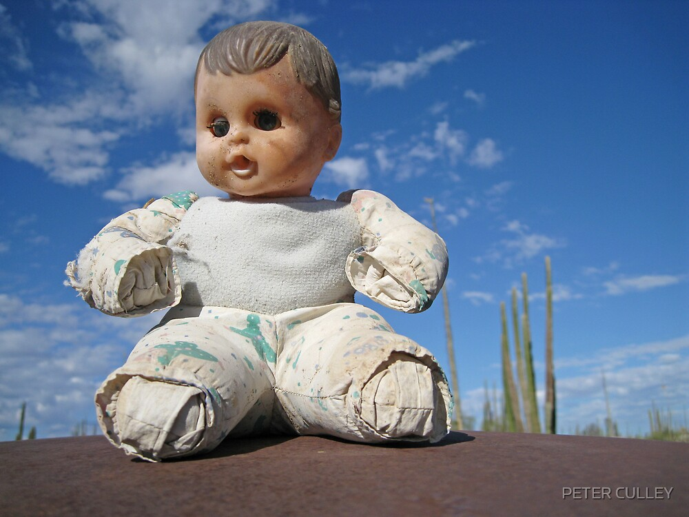 Catavina doll by PETER CULLEY