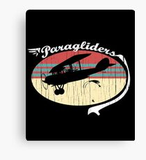 Paragliders T-Shirt & Gift Idea Canvas Print