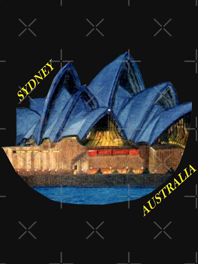 Lilac Lady, Sydney Opera House  by chrisjoy