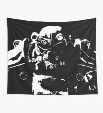 Fallout 3 - Power Armour Silhouette Wall Tapestry