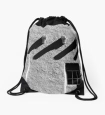 Architectural abstract Drawstring Bag