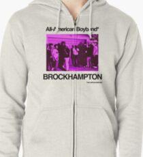 Brockhampton All-American Boyband Zipped Hoodie