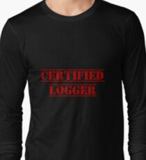 Certified Logger Long Sleeve T-Shirt