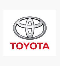 Toyota Photographic Print