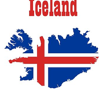 Team Iceland - Flag  by BrchtV
