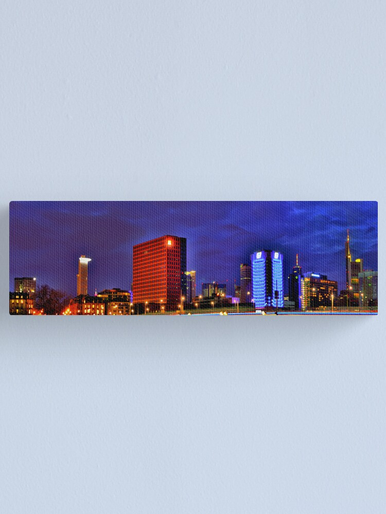 Alternate view of Frankfurt Panorama Canvas Print