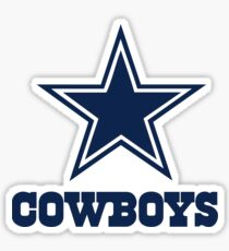 Dallas Cowboys Logo Sticker