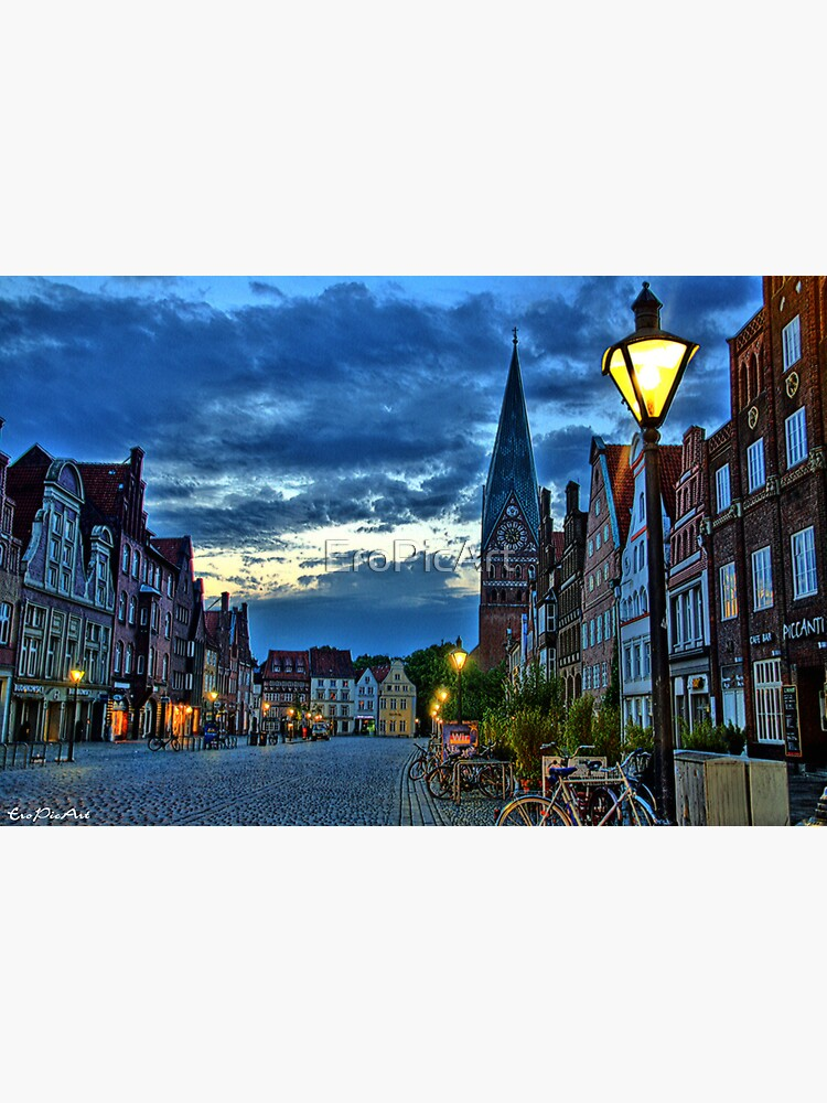 Lüneburg in the Morning by EroPicArt
