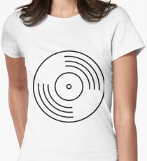 Ohne Titel Tailliertes T-Shirt für Frauen