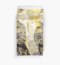 "Funda nórdica Gustav Klimt ""serpientes de agua"""