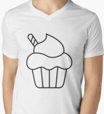 Ohne Titel T-Shirt mit V-Ausschnitt für Männer
