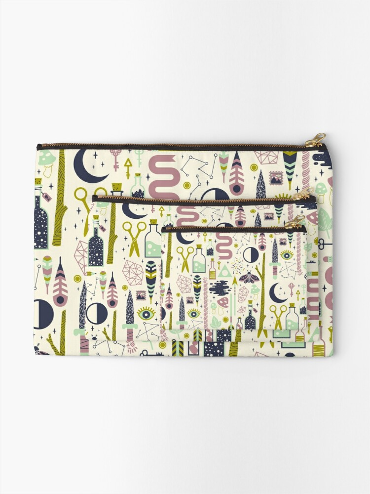 Alternate view of The Witch's Collection Zipper Pouch