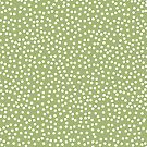 Leaf Green and White Polka Dot by itsjensworld