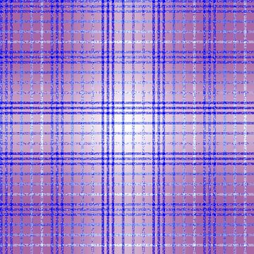 Thin Blue and Purple Speckled Tartan Pattern by MarkUK97
