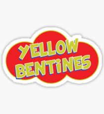 Yellow Bentines Sticker