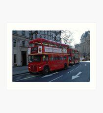 Routemaster Art Print