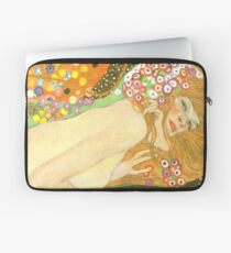 "Gustav Klimt ""Water Serpents"" (detail) Laptop Sleeve"