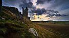 Dunstanburgh Castle - North Tower by David Lewins